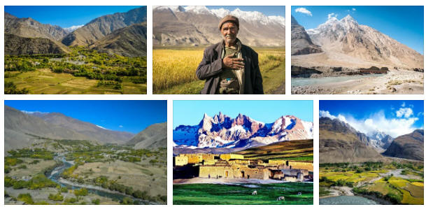 Afghanistan: Various travel information
