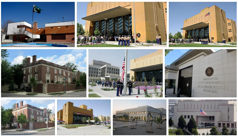 Afghanistan embassies and consulates