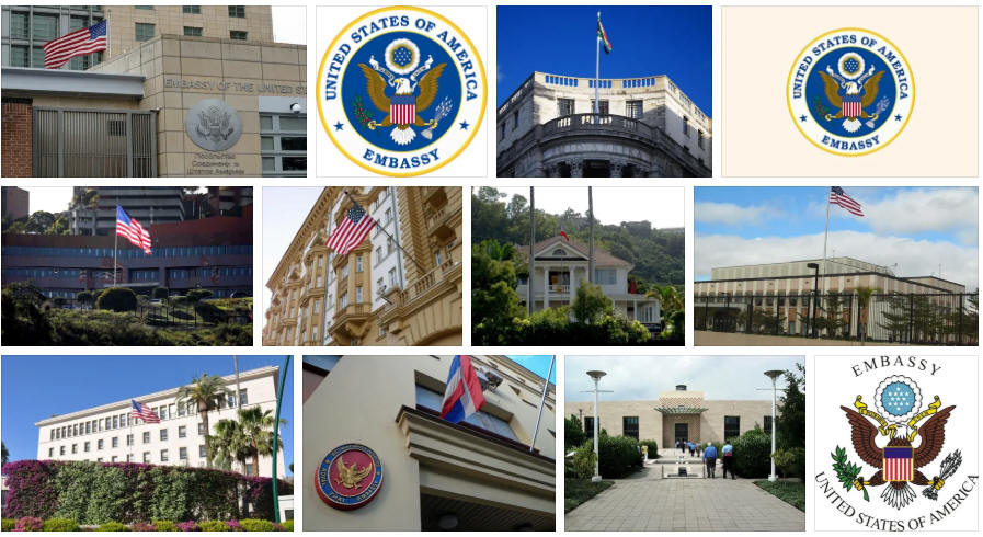 American Samoa embassies and consulates