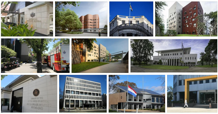 Australia embassies and consulates
