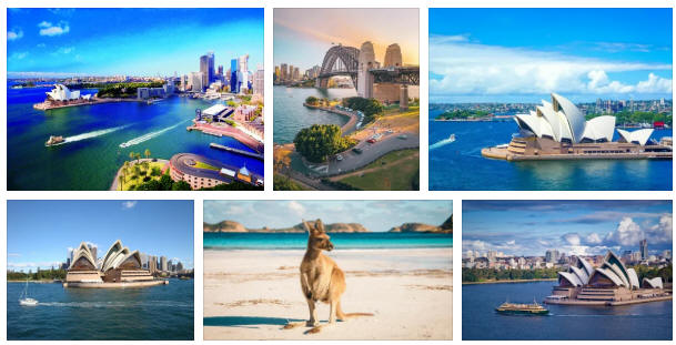 Australia: Various travel information