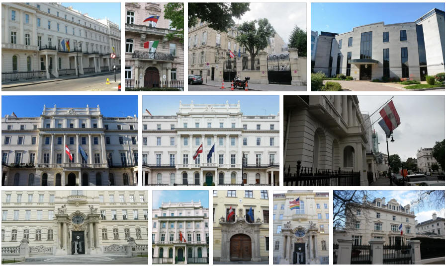 Austria embassies and consulates