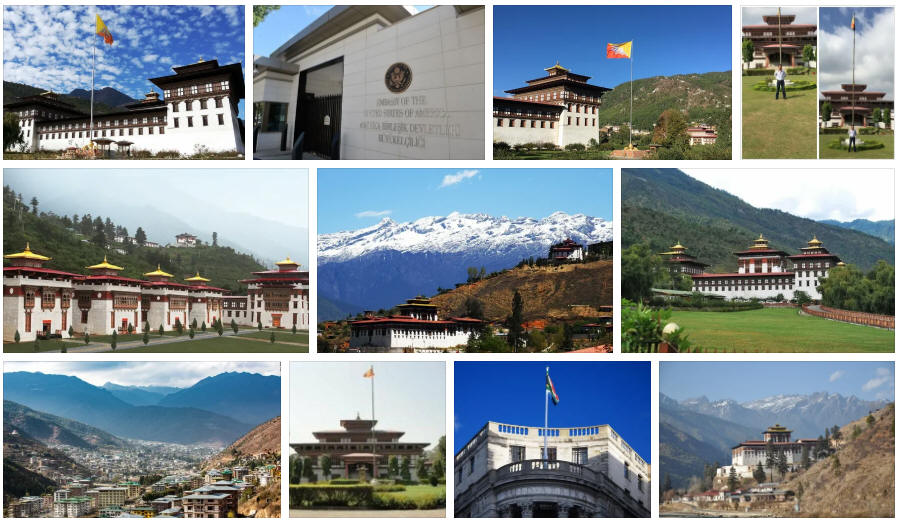 Bhutan embassies and consulates