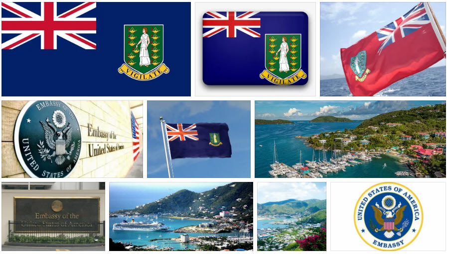British Virgin Islands embassies and consulates