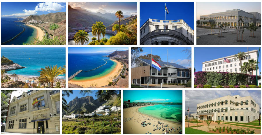Canary Islands embassies and consulates