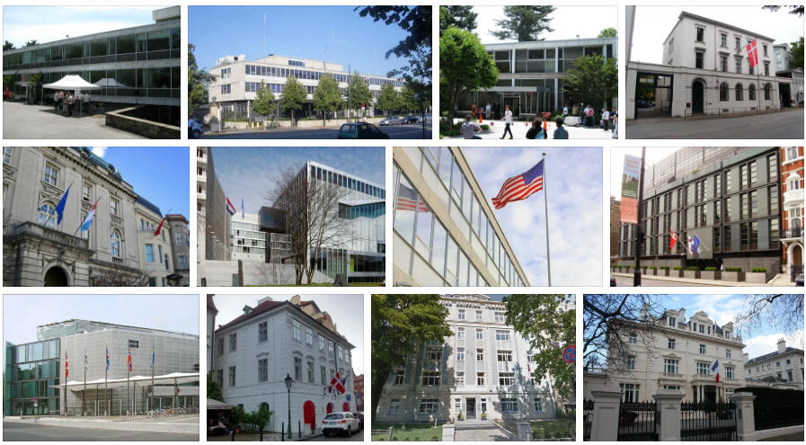 Denmark embassies and consulates