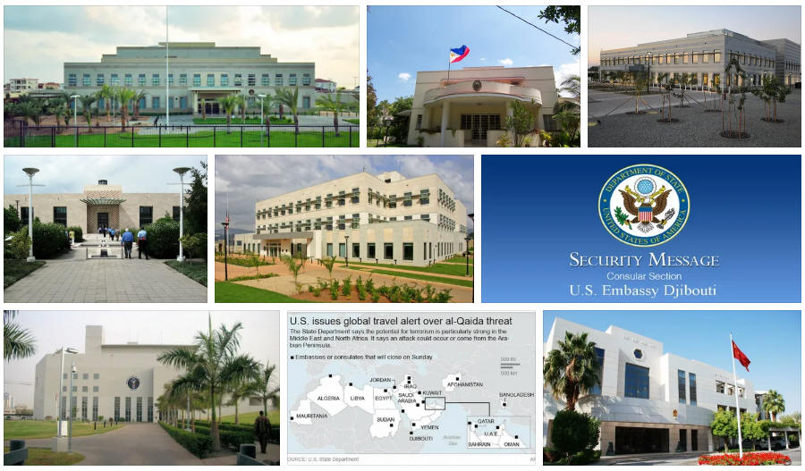 Djibouti embassies and consulates