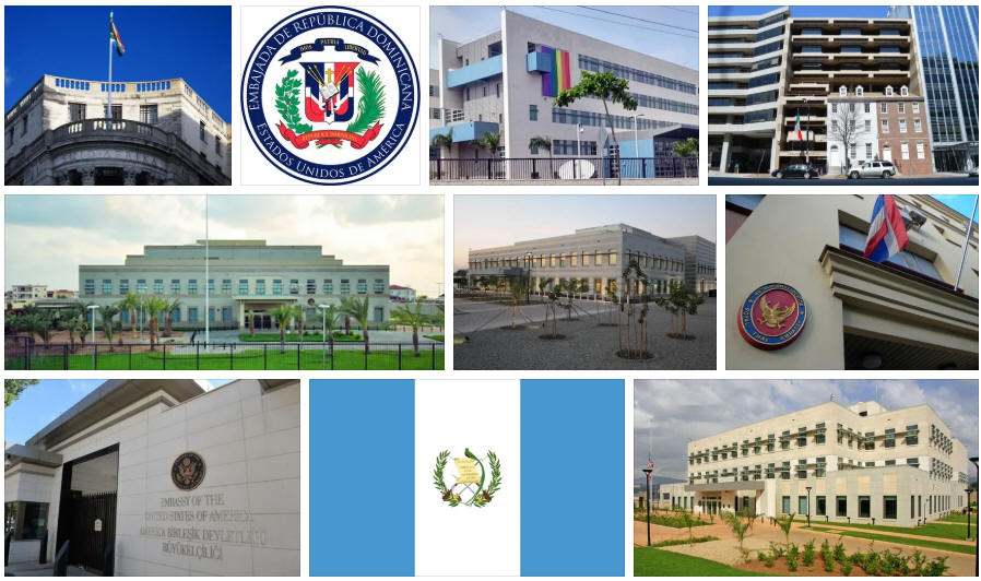 Dominican Republic embassies and consulates