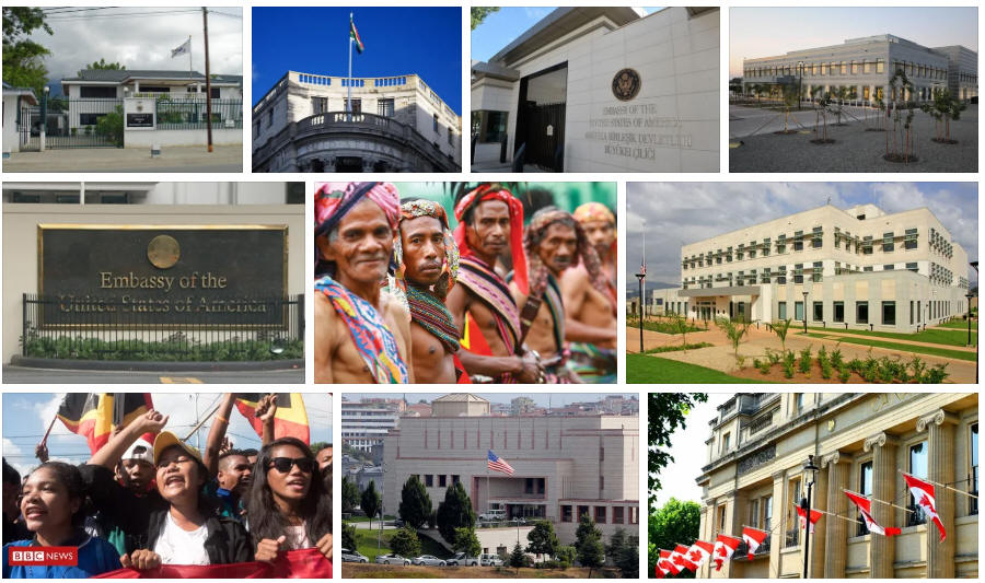 East Timor embassies and consulates