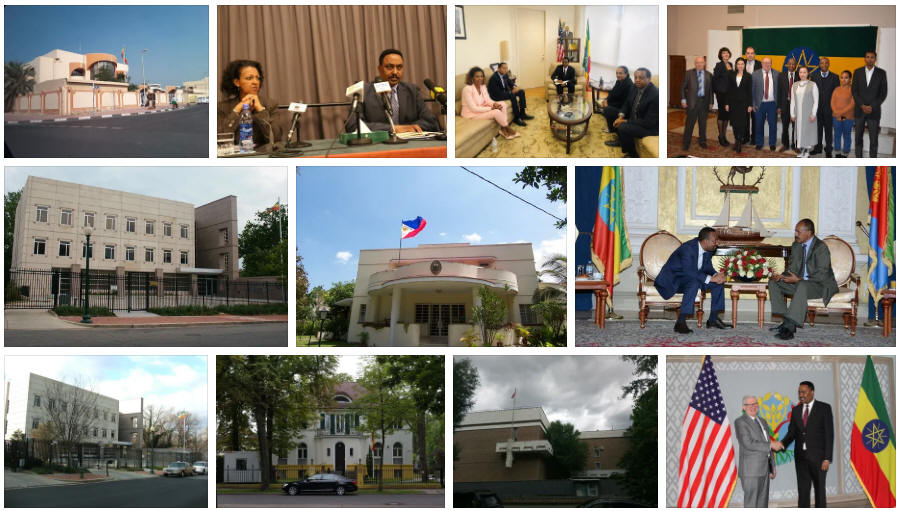 Ethiopia embassies and consulates