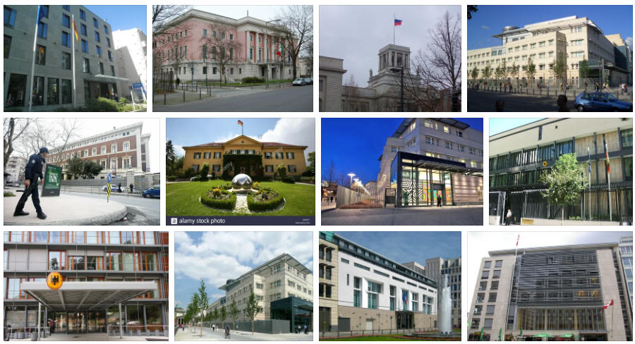 Germany embassies and consulates