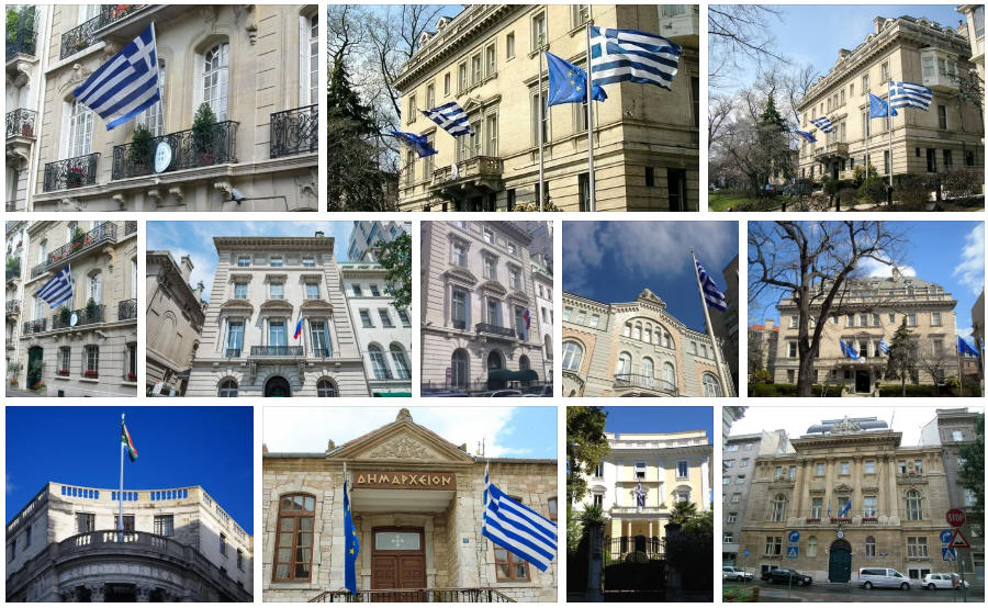 Greece embassies and consulates
