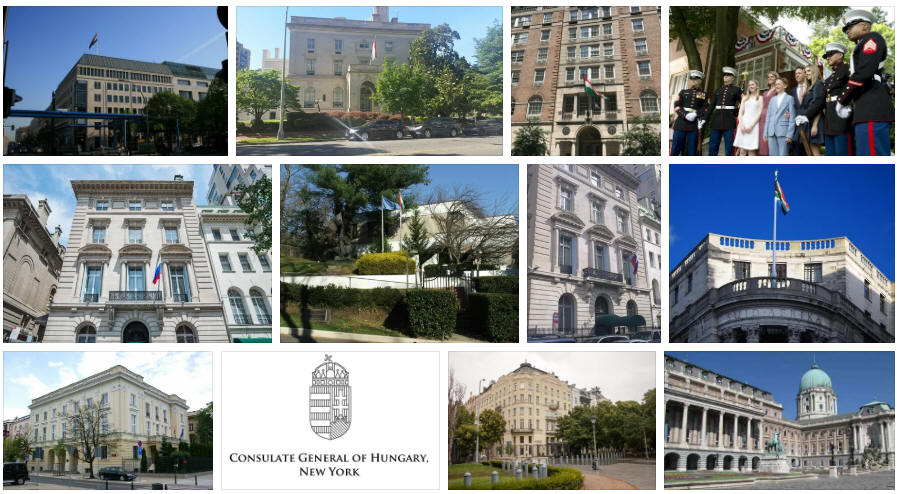 Hungary embassies and consulates