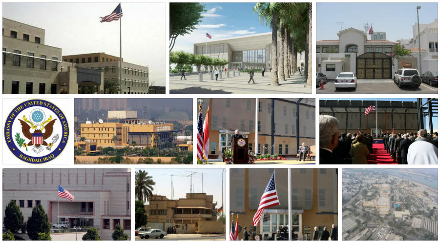 Iraq embassies and consulates