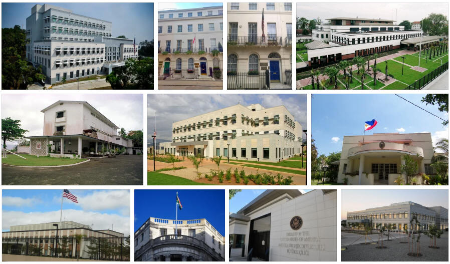 Liberia embassies and consulates