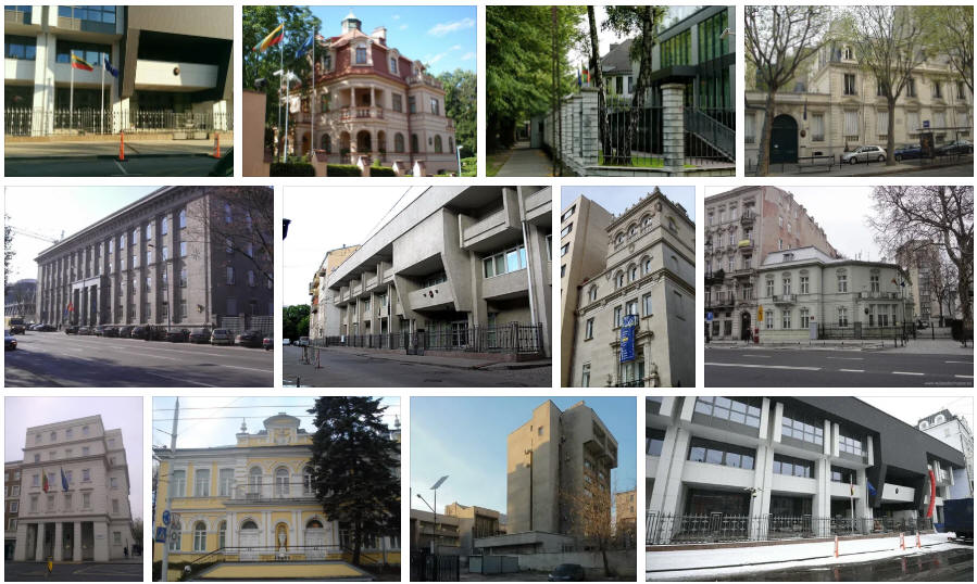 Lithuania embassies and consulates