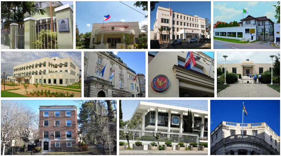 Martinique embassies and consulates