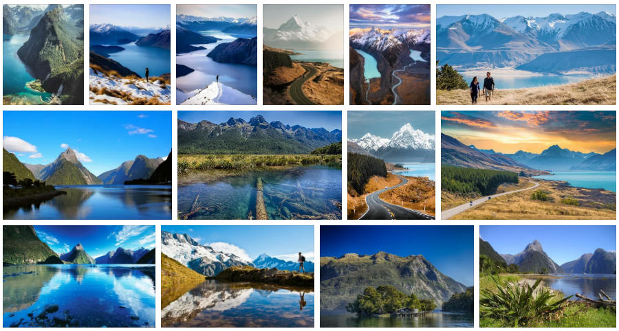 New Zealand: Various travel information