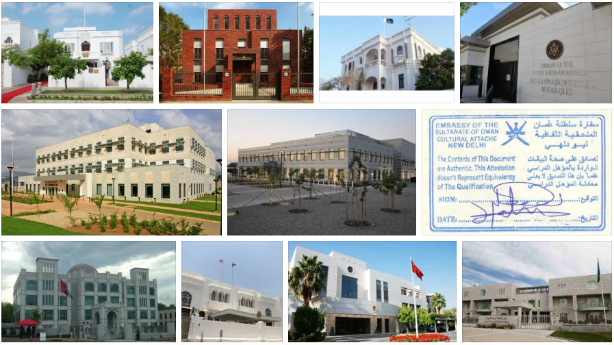 Oman embassies and consulates