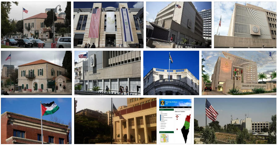Palestine embassies and consulates