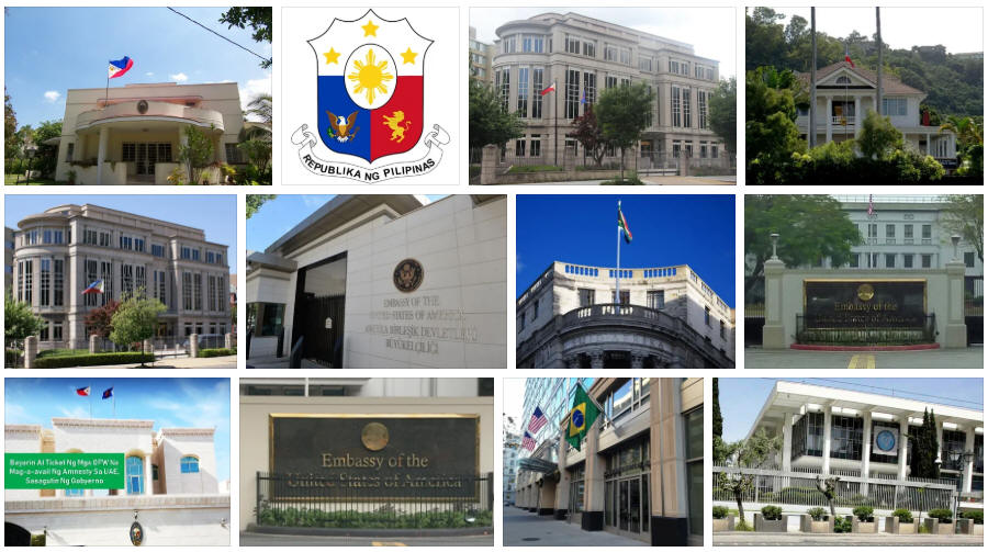Philippines embassies and consulates