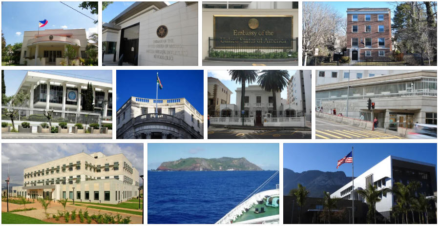 Pitcairn embassies and consulates
