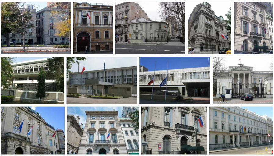Poland embassies and consulates