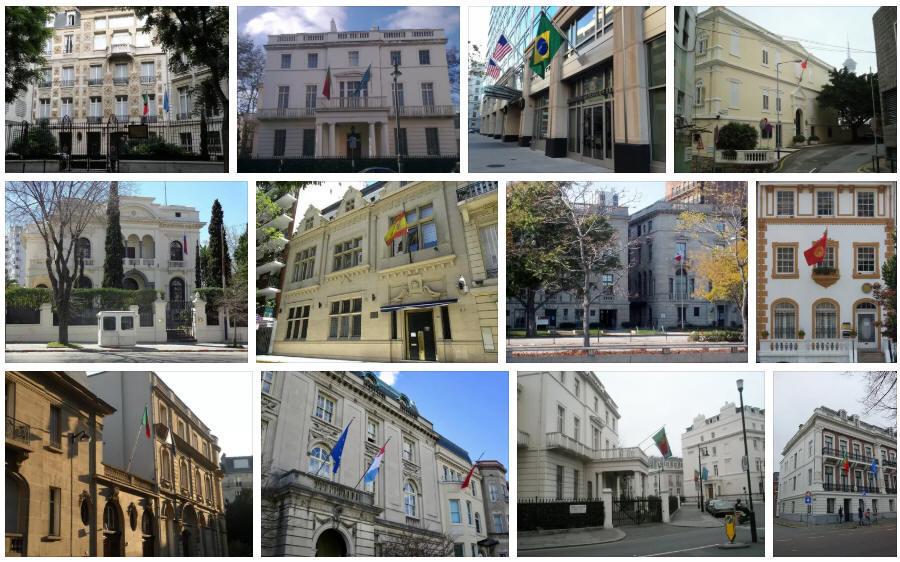 Portugal embassies and consulates