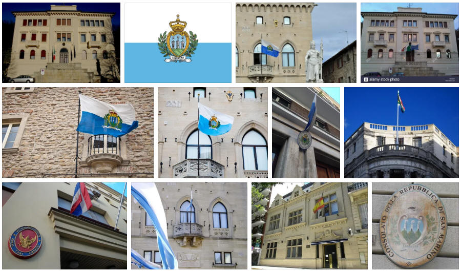 San Marino embassies and consulates