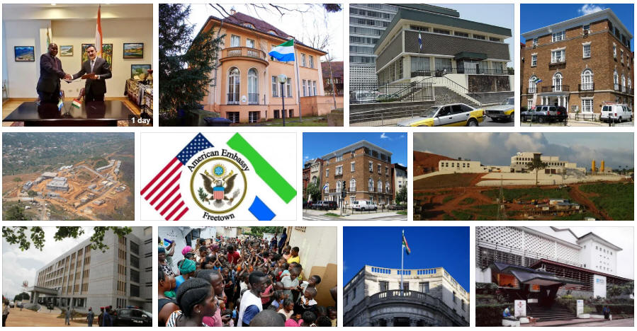 Sierra Leone embassies and consulates