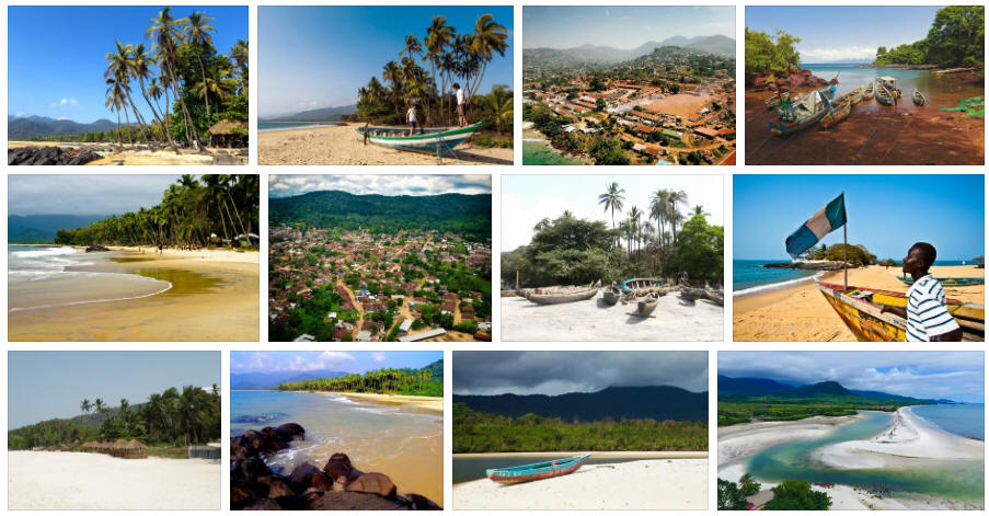 Sierra Leone: Various travel information