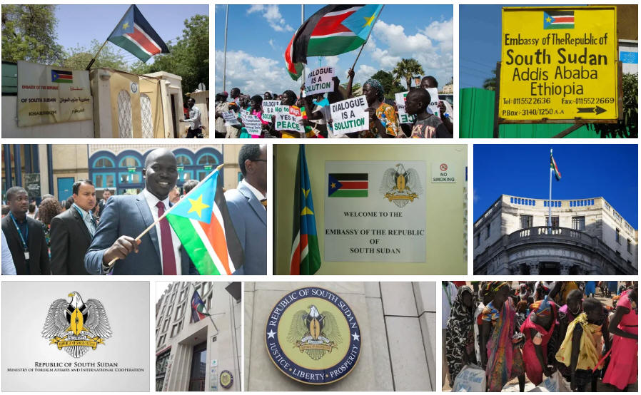 South Sudan embassies and consulates