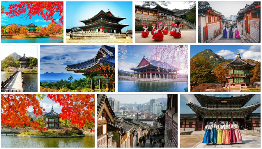 South Korea: Various travel information