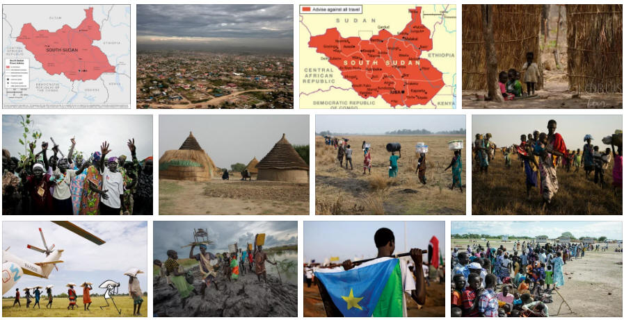 South Sudan: Various travel information