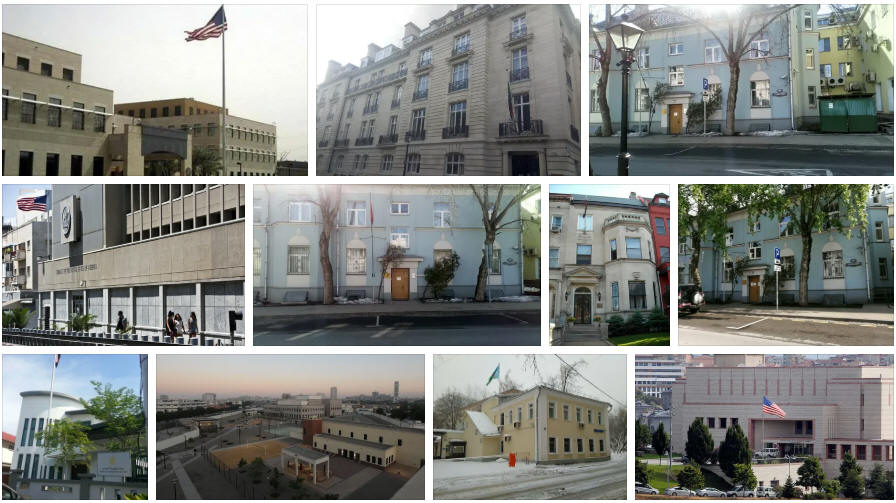 Sudan embassies and consulates