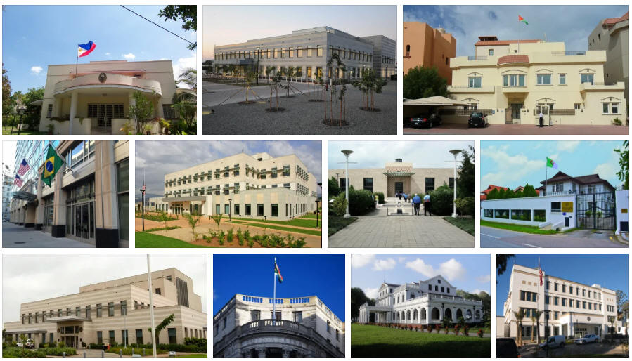 Suriname embassies and consulates