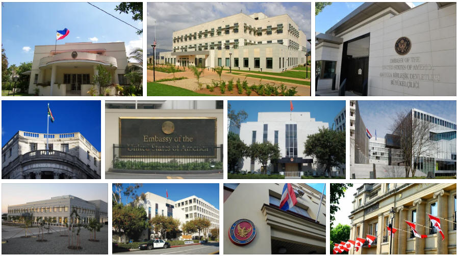 Tonga embassies and consulates