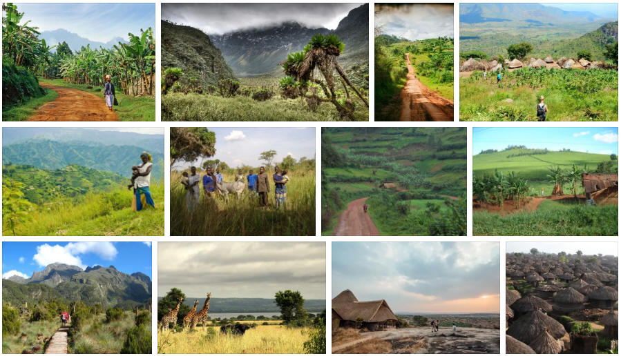 Uganda: Various travel information