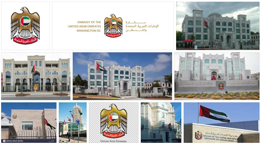 United Arab Emirates embassies and consulates
