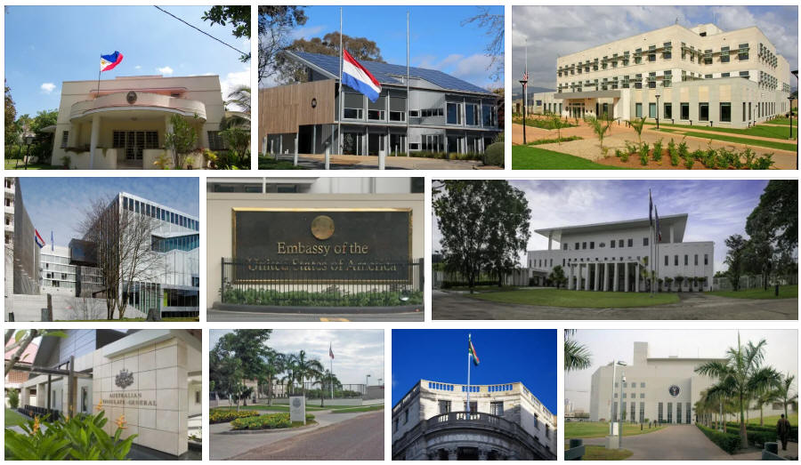 Vanuatu embassies and consulates