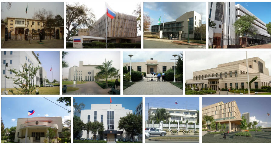 Zambia embassies and consulates