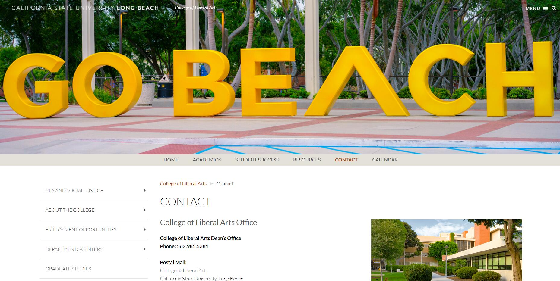CSULB College of Liberal Arts