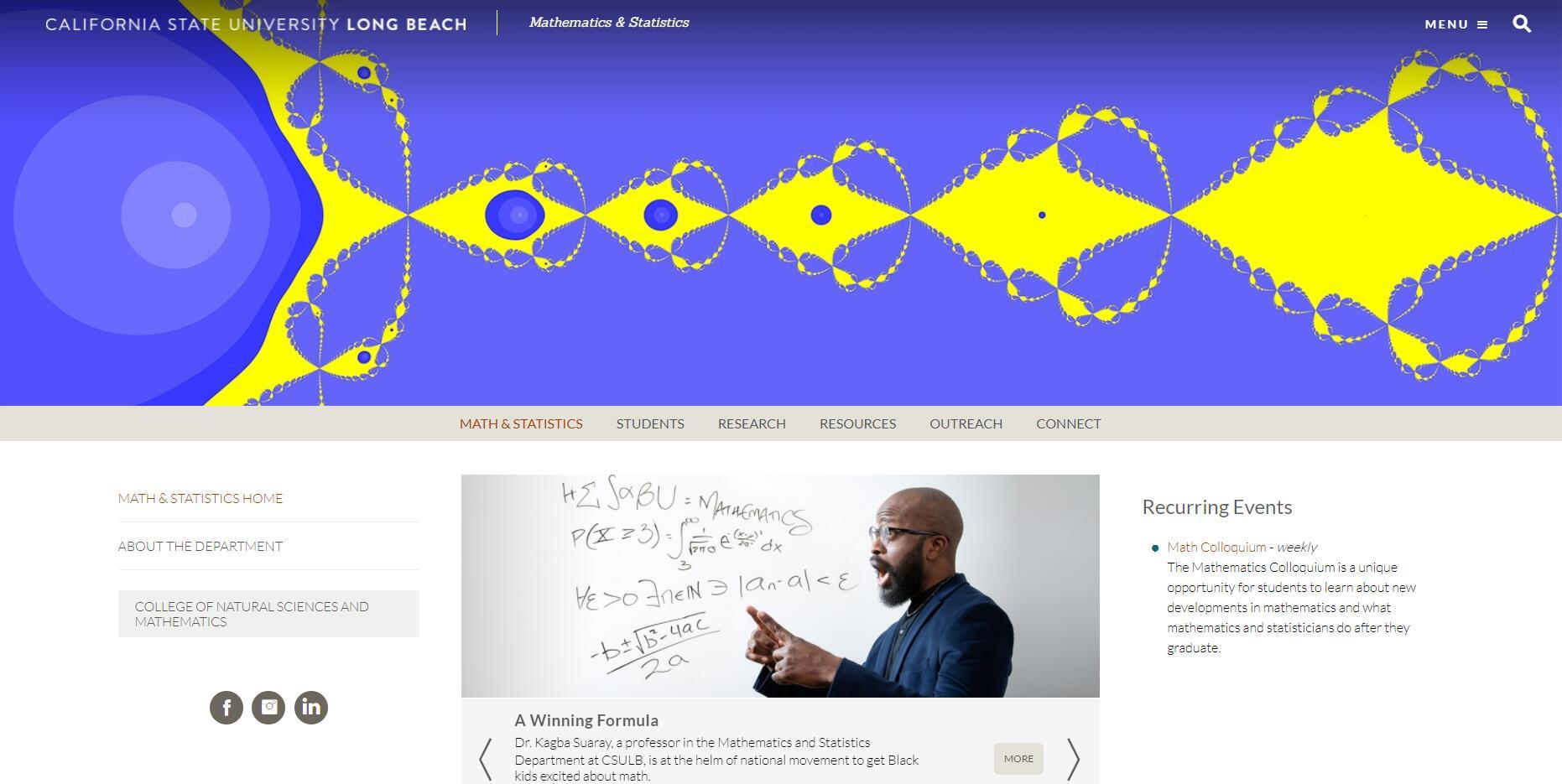 CSULB Mathematics & Statistics