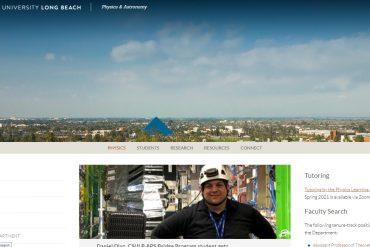Physics & Astronomy - California State University, Long Beach